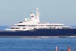 Lo yacht dell'emiro a Capo Passero