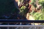 Canale di via Badame a Palermo, crolla un tratto di argine - Foto