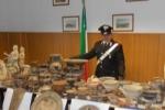 Reperti archeologici e falsi: blitz a Caltanissetta