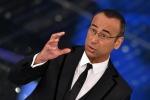 Carlo Conti ricorda le nuove vittime di Lampedusa