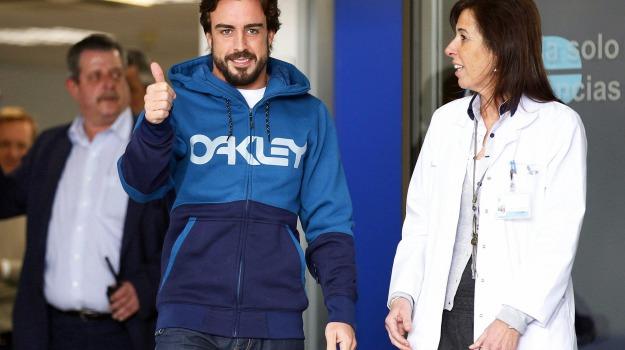 giallo, incidente, memoria, Fernando Alonso, Sicilia, Sport