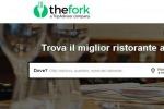 """Al ristorante con un click: anche in Italia c'è """"TheFork"""""""