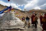 Himalaya, ghiacciaio artificiale contro la scarsità d'acqua