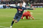 Higuain gela l'Inter allo scadere Napoli in semifinale contro la Lazio