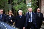 Il presidente Mattarella a Palermo per le feste pasquali