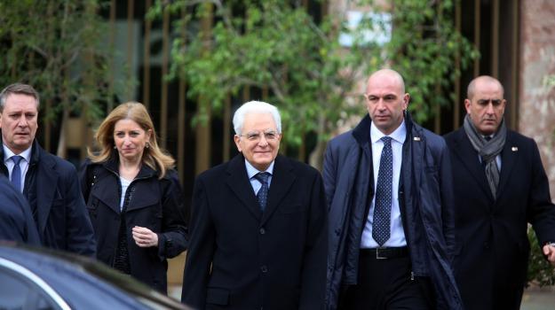 presidente, repubblica, vacanze pasquali, visita, Sergio Mattarella, Palermo, Cronaca