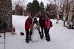 Raduno sulla neve, escursioni per i sentieri dell'Etna - Foto