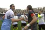 Il Palermo crolla all'Olimpico contro la Lazio: le immagini della partita