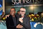 Lo show di Panariello in sala stampa, Ranieri annuncia forfait