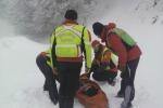 Incidenti sulla neve a Piano Battaglia, 5 persone soccorse