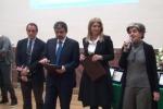 Consegnato il premio Francese ai giornalisti Abbate, Angeli e Sabella
