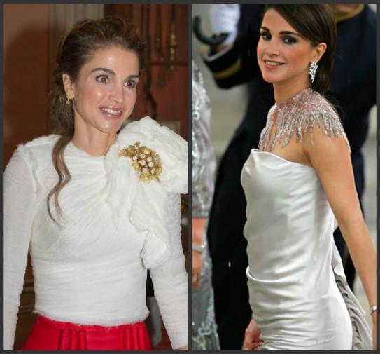 Matrimonio In Giordania : La regina rania di giordania abbraccia una bimba parente