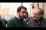 """Salvini a Palermo: """"La mafia è il pericolo numero uno"""" - Video"""