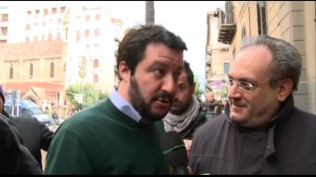 Lega, piazza, roma, Sicilia, Politica