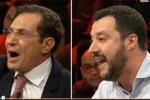 """""""Controlla i tuoi ospedali"""", scontro in tv Crocetta-Salvini - Video"""