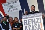 """Salvini da Roma: """"Crocetta come Marino: una sciagura naturale. Dimettiti"""""""