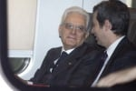 """Mattarella ai giudici: """"Né burocrati, né protagonisti"""". A Firenze arriva in treno - Foto"""