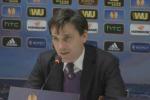 """Vincenzo Montella: """"Vittoria importante ma non bisogna lasciarsi prendere dall'euforia"""" - Video"""