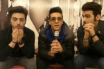 Il Volo e le prime prove sul palco dell'Ariston - Video