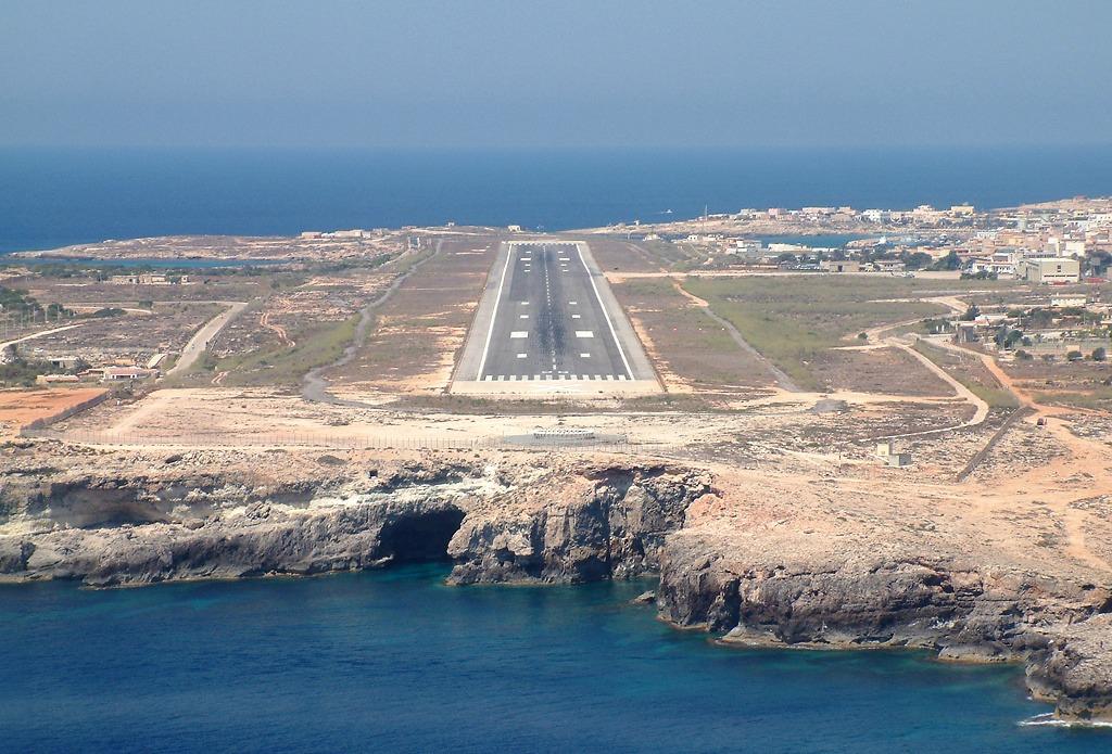 Lampedusa Nuovi Collegamenti Aerei Con Malta Giornale Di Sicilia