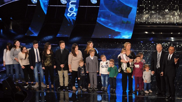 famiglia anania, sanremo, sedici figli, spiritualità, Sicilia, Sanremo