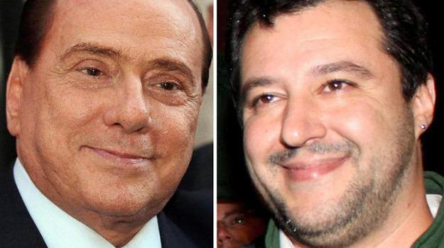 forza italia, Lega Nord, riforme, Matteo Renzi, Matteo Salvini, Silvio Berlusconi, Sicilia, Politica