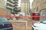 Guardia giurata trovata a Palermo, le immagini del cantiere dove è stato rinvenuto il corpo - Video