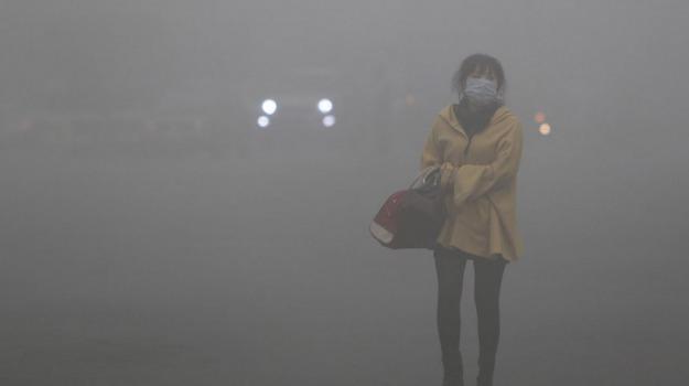 CINA, dati, Greenpeace, pechino, smog, Sicilia, Mondo