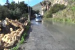 Maltempo a Palermo, crolla un muro a Borgo Nuovo - Video