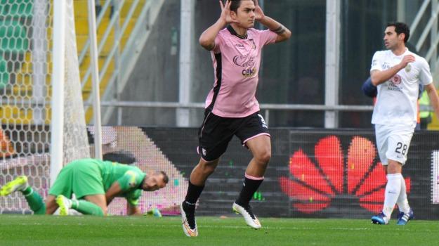 Calcio, campionato, Palermo, rosanero, verona, Andrea Belotti, Palermo, Calcio