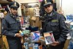 Merce contraffatta, sequestrati oltre 28 mila prodotti a Palermo