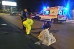 Scontro in viale Regione, muore 23enne: le immagini dopo l'incidente