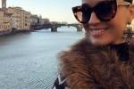 "Katy Perry in Toscana tra Pisa e Firenze: ""Posti magici"""