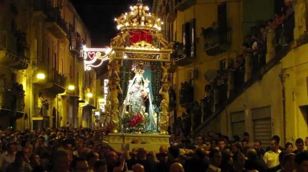 festa, patrona, Sciacca, Agrigento, Cultura