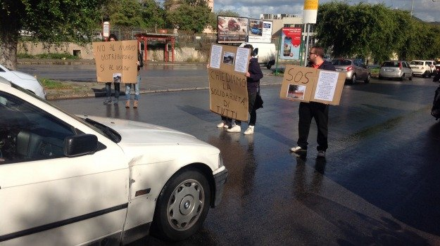 impianto carburante, Palermo, protesta, Palermo, Cronaca