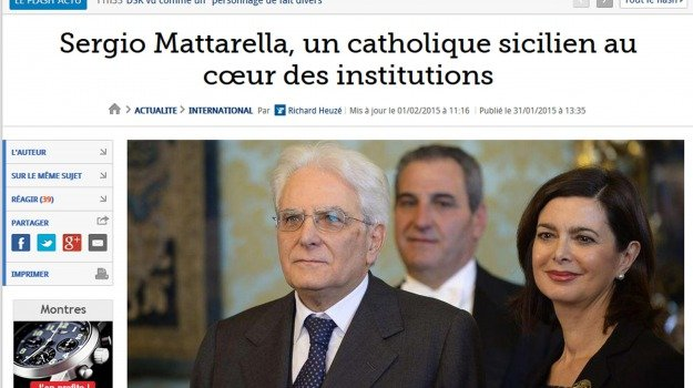Sicilia, Politica, Un siciliano per l'Italia