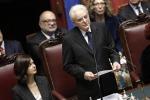 Mattarella, il discorso integrale alla Camera
