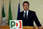 Renzi: dialogo aperto, ma non si provi a fermare le riforme