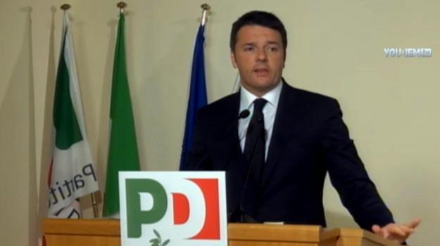 direzione, pd, regionali, scuola, Senato, Matteo Renzi, Sicilia, Politica