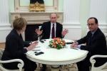 Ucraina, si tenta un accordo: vertice tra Merkel, Hollande e Putin