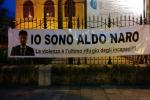 """Aldo Naro, lo Zen scende in piazza e si difende: """"Qui non siamo tutti delinquenti"""""""