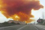 Allarme nube tossica in Spagna, isolati 4 comuni