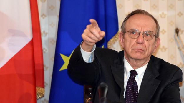 decreto, pensioni, Pier Carlo Padoan, Sicilia, Economia