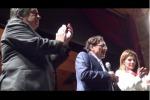 Teatro Politeama pieno, Palermo saluta il presidente - Video