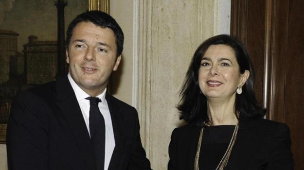 premier, presidente della Camera, rai, riforma, Laura Boldrini, Matteo Renzi, Sicilia, Politica