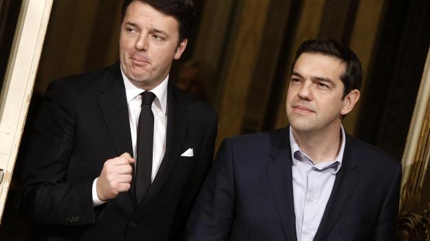 Atene, roma, unione europea, Alexis Tsipras, Matteo Renzi, Sicilia, Politica