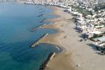 Scicli, «spazzata» via la spiaggia di Spinasanta