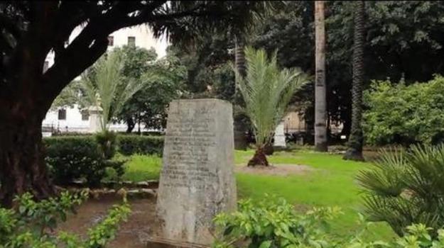 polizia, sparizione, statua, Palermo, Cronaca