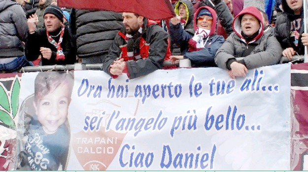 daniel, stadio, tifosi, Trapani, Cronaca