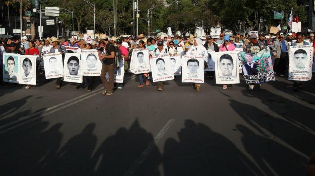 messico, protesta, scomparsa, studenti, Sicilia, Mondo